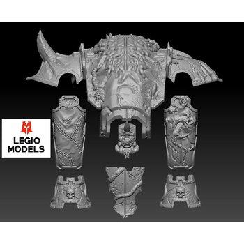 mini knight Rotten Armour kit horned version