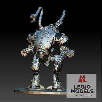 mini knight Dark Mech armor kit tentacles version
