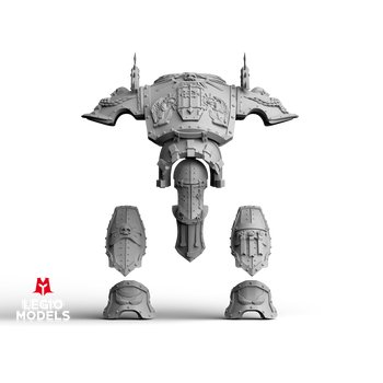 mini knight Ultra armour kit wings versions