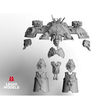 Big knight Skull Blood Armour Kit