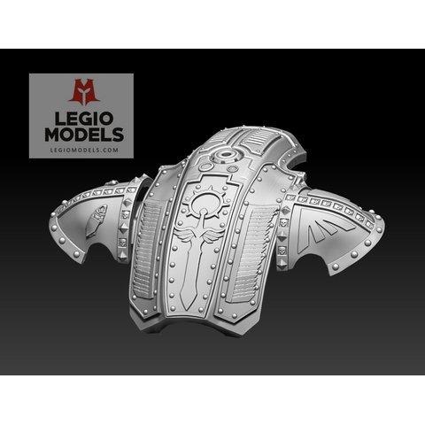 mini knight Dark Monk Armor Kit wing version