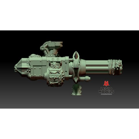 Rotten Gatling cannon (Left arm)