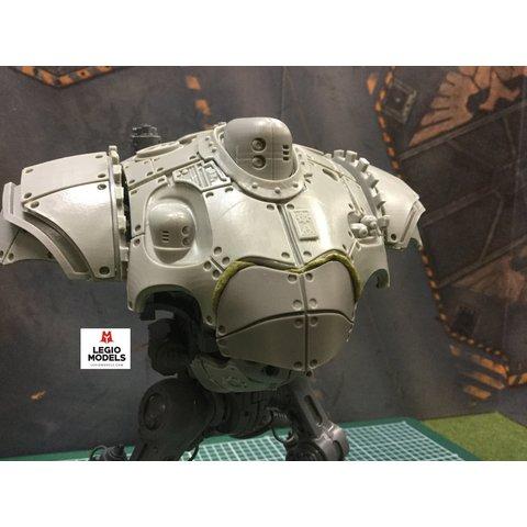 Mechanical head armour plate
