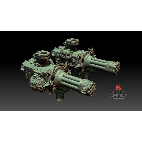 Rotten Gatling cannon (Left arm)