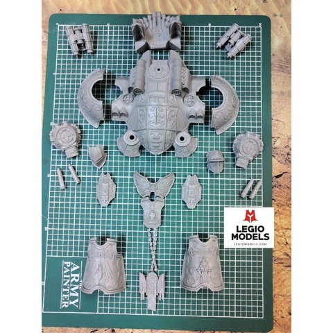Big knight Nuns of battle armor Kit