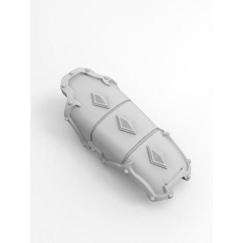 mini knight Wolf Armour kit (skull helm version)