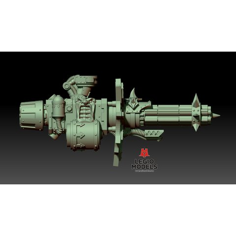 Renegade knight gatling gun (Right arm)