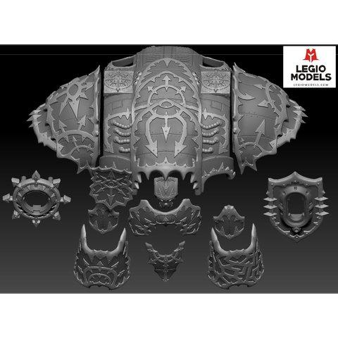 Undivided Armor kit