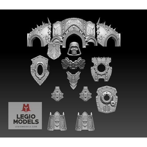 Dark Monk Armour Kit (version 2)