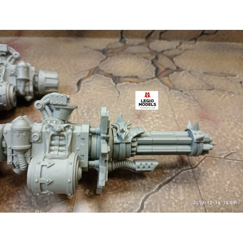 Renegade knight gatling gun (Left arm)