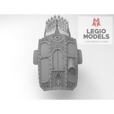Mini knight Nuns of battle armour Kit  organ version
