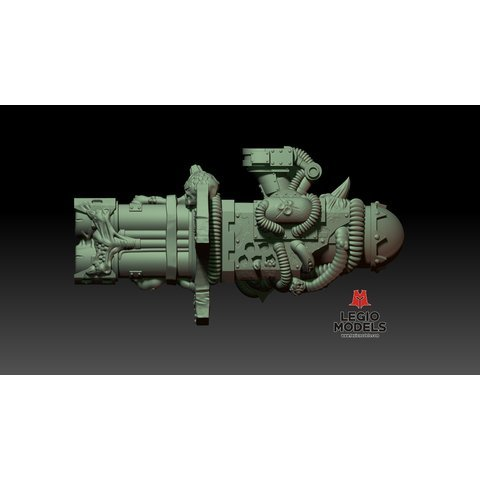 Rotten Thermal cannon v2 (Left arm)