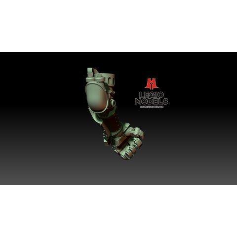 Loyalist poseable hands (pair) Loyalist poseable hands (pair)