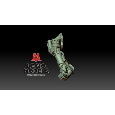 Renegade poseable hand Left