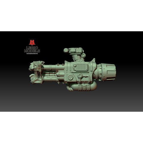 Conflagration Cannon (Right arm)