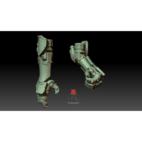 Loyalist poseable hands (pair)