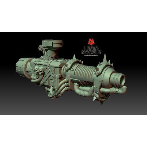 Plasma Decimator (Left arm)