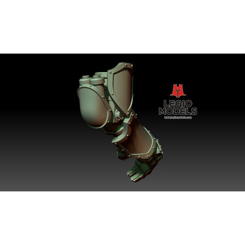 Loyalist poseable hand Right